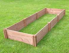 Wooden Raised Beds - Economy Range