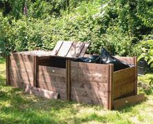 Superior Wooden Compost Bins - 75cm High