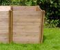 Wooden Compact compost bin extension module