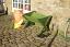 Green Wooden Manger Raised Bed