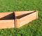 Corner Raised Bed Add-On, 2 boards deep