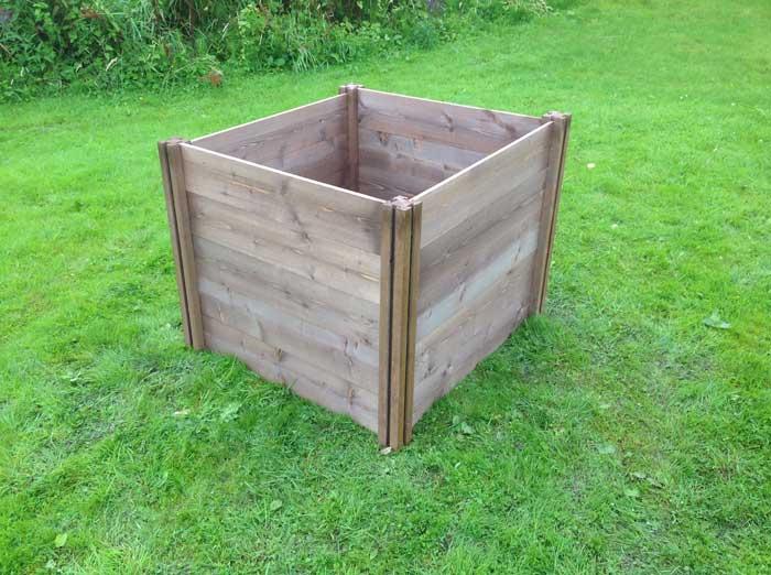 Gardening Works Wooden Raised Beds Amp Compost Bins