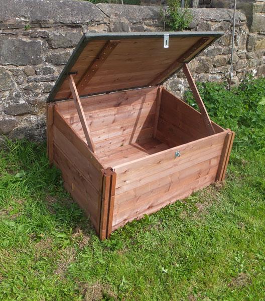 Gardening Works Wooden Raised Beds Compost Bins