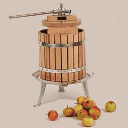 Vigo 12 litre Stainless Steel Spindle Fruit Press