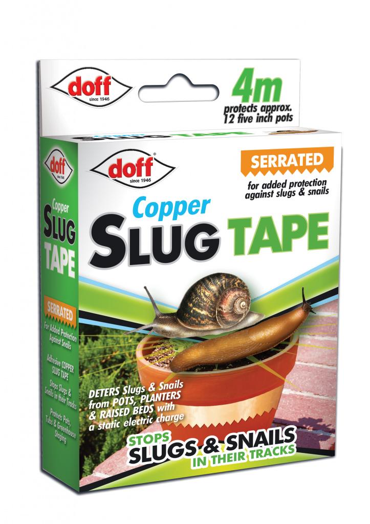 Doff Copper Slug & Snail Serrated Protection Tape