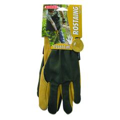 Gents Essential Premium Cotton / Suede Gloves