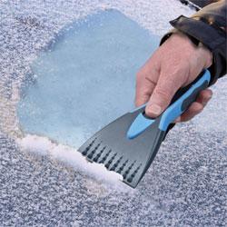Soft Grip Windscreen Ice Scraper