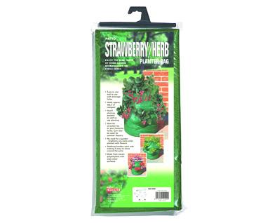 Patio Strawberry & Herb Planter Bag