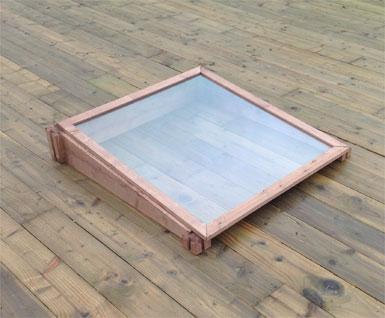 Cold Frame Converter Kit for Wooden Raised Beds