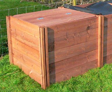 Classic Wooden Compost Bin Lid - Fits All Classic Compost Bins