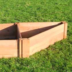 Corner Wooden Raised Bed Add On Module