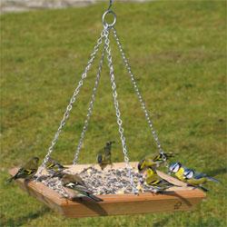 CJ Wildlife Hanging Square Bird Table