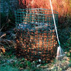Jumbo Leaf Mould Compost Bin Starter Kit