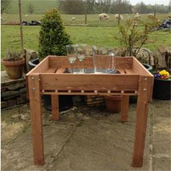 Garden Patio / BBQ Table