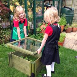 My Real Garden Children's Wooden Cold Frame