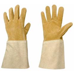 Rosieriste Leather Gauntlet Gardening Gloves