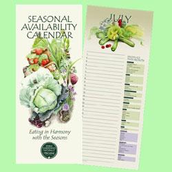 Seasonal Availability Calendar