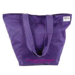 Fair Trade Canvas Whopper Shopping Bag