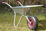 Maingate County Corvette Stainless Steel Wheelbarrow