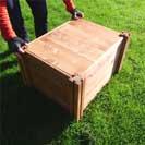 Wooden Tortoise Hibernation Box - Vivarium