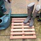 Wooden Puddle Duck Boards - Garden Track / Board Walk