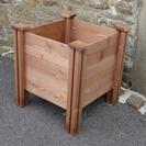 Wooden Raised Garden Planter 1.5cm Boards