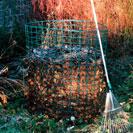 Jumbo Leaf Mould Mesh Compost Bin Composter